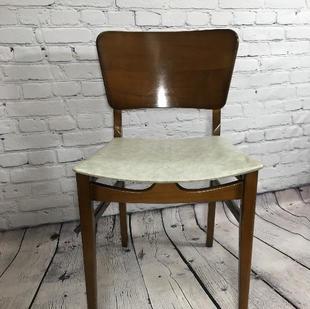 Retro Veneer Hardback Chair