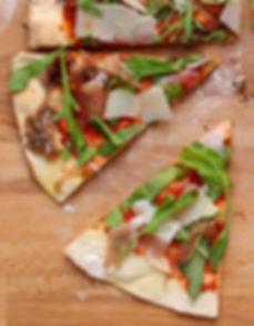 making safe pizza