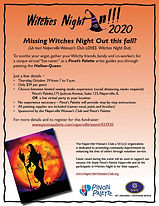 Witches Night In - Pinot's Palette 2020.