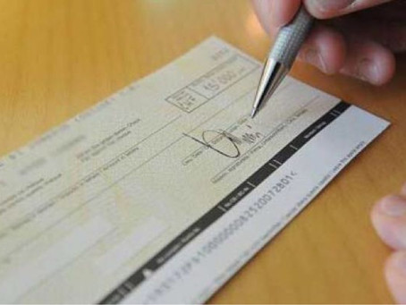 Attenzione alle truffe con gli assegni
