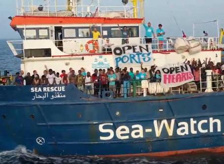 ONG e smaltimento dei rifiuti prodotti dai migranti soccorsi in mare