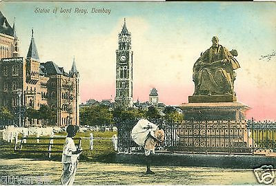Governor Reay's statue in Bombay