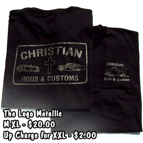 The Logo Metallic Tee Shirt