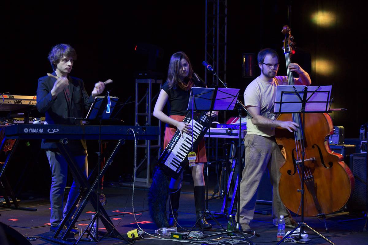 Performing with DiscoCactus, 2016