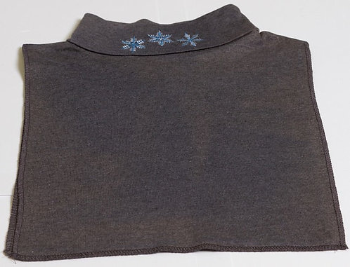 Embroidered Holiday dickies gray snow flake