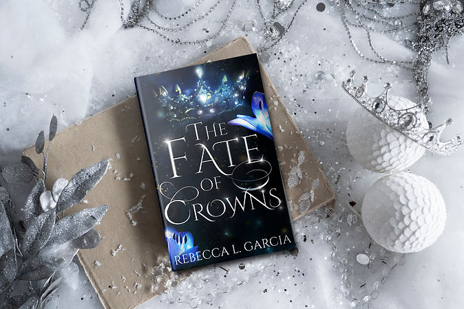 The Fate of Crowns Winter Crown Flat Lay