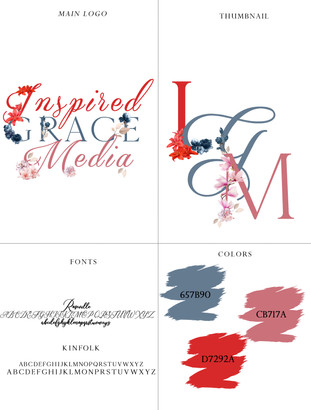 Inspired Grace Media Branding Style Shee