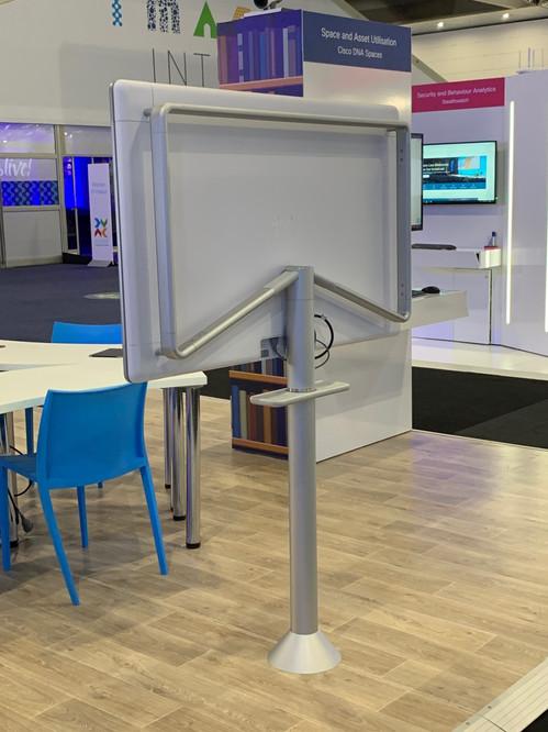 Webex Board Stand Rear Frame