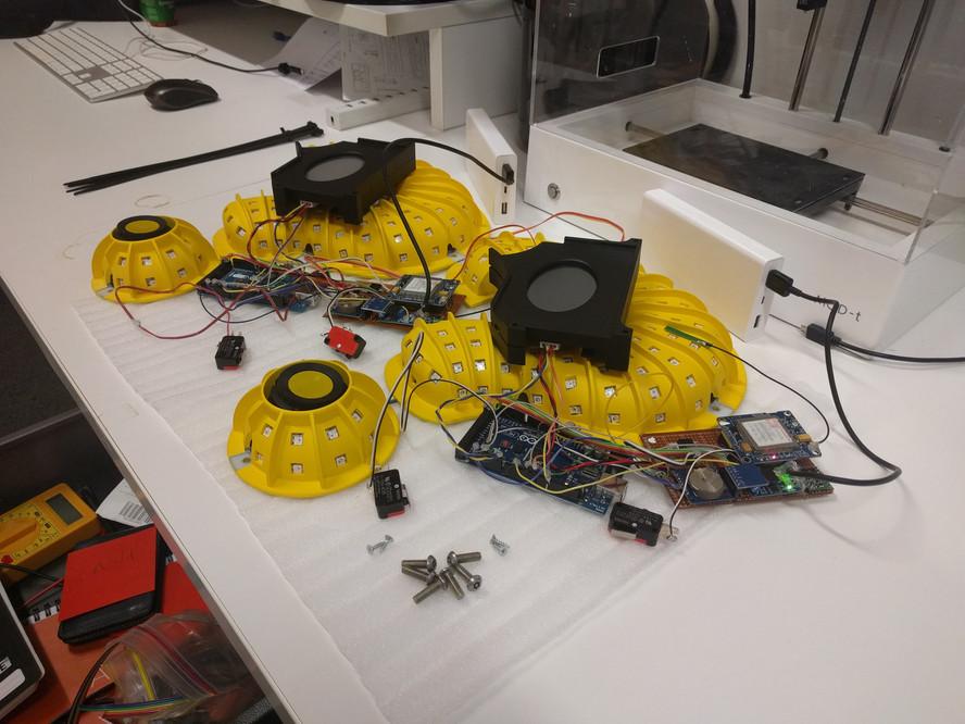 LED and Internal Electronics