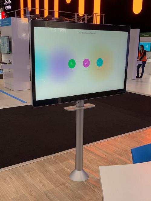 Cisco Webex Board Stand Front