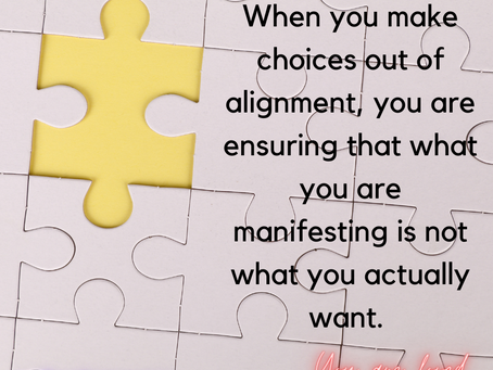 Alignment is Key to Manifesting