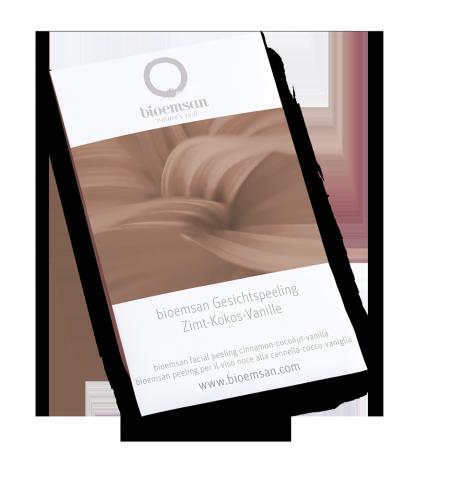 bioemsan Gesichtspeeling Zimt-Kokos-Vanille