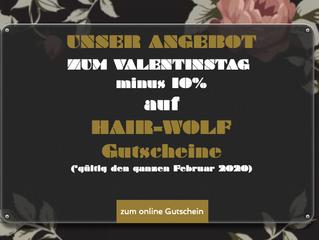 Angebot Valentinstag