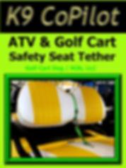 K9 CoPilot Seat Belt w/Detachable Tether