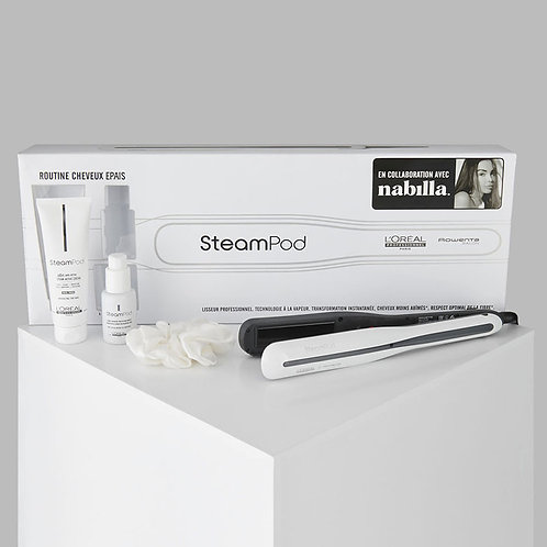 Steampod 3.0 collaboration Nabilla (crème + sérum + chouchou)