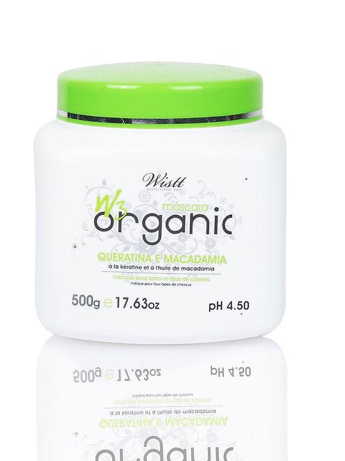 W3 ORGANIC Masque kératine macadamia 500ml