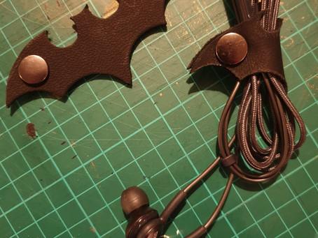 Treasure Knot - Bat Earphone Tidy