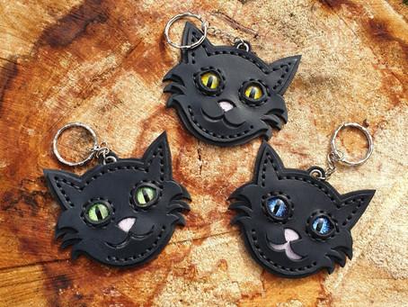 Treasure Knot - Cat Keyrings