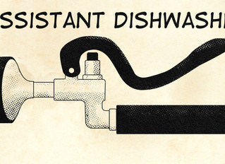 I wrote a short story - Assistant Dishwasher