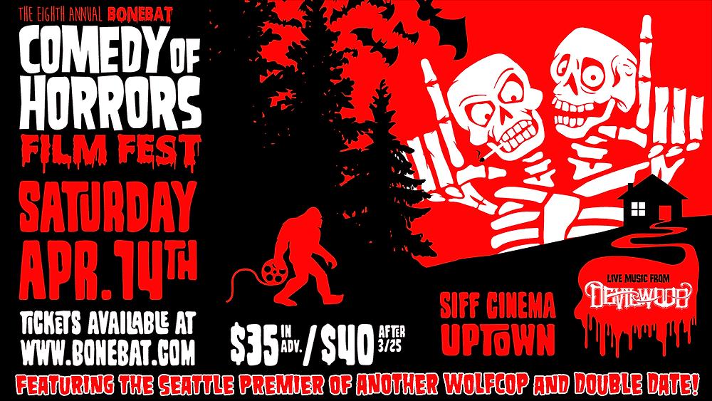 BoneBat Comedy of Horrors Poster