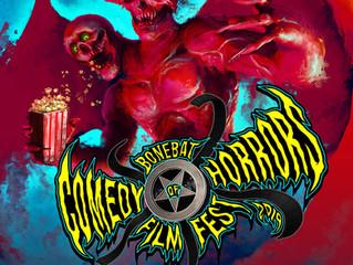 The BoneBat Comedy of Horrors Film Festival 2019