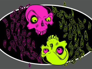 Lots of skulls on new T-Shirt design