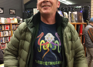 LGBTQTHULHU sighting at Logos Books