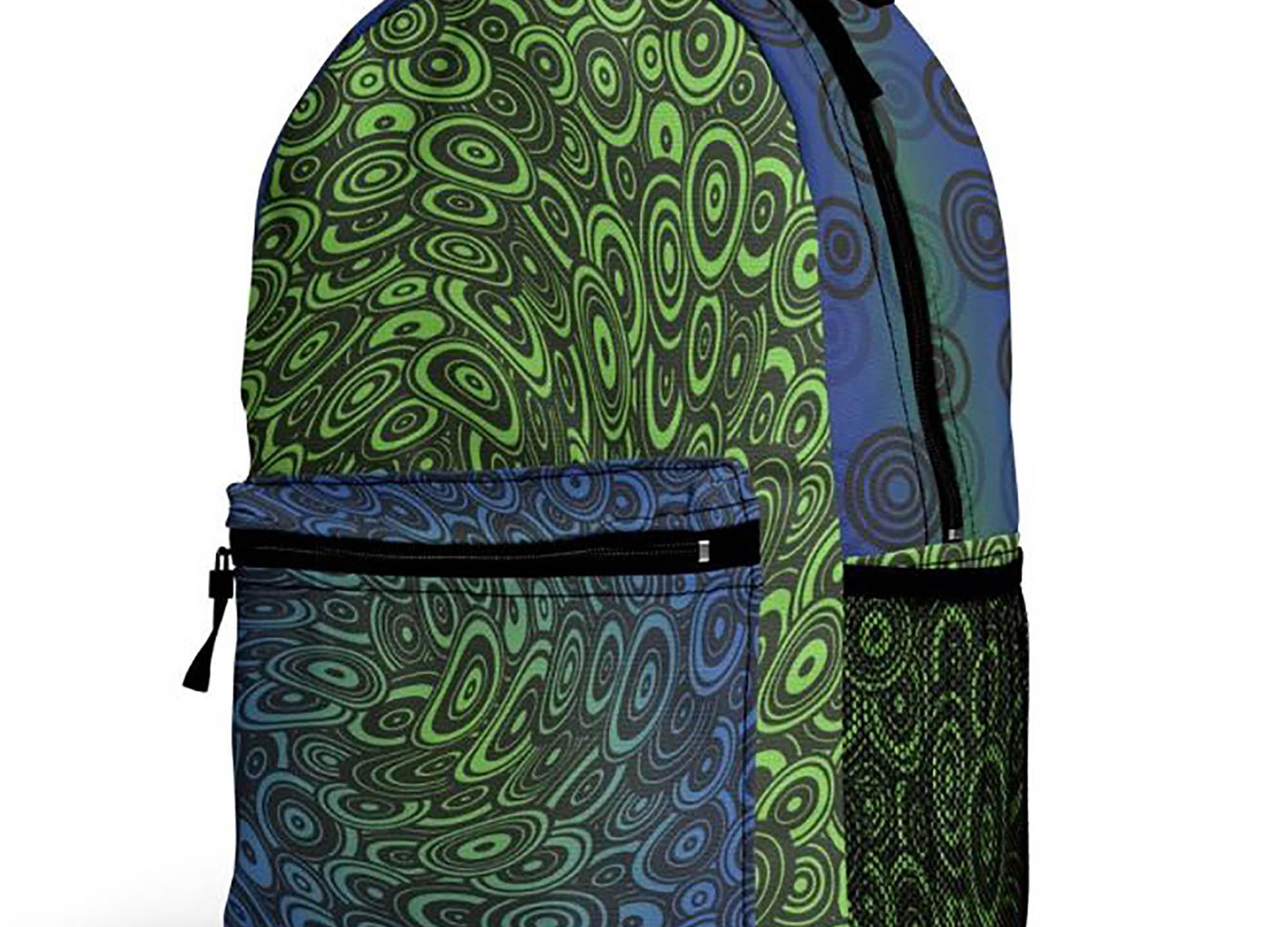 melting moving target backpack