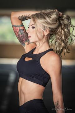 Cheyann fitness model shoot