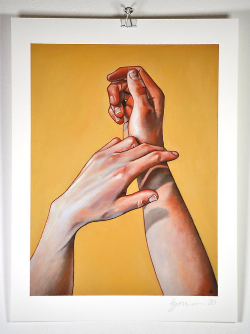 'Two Hands I' - Print