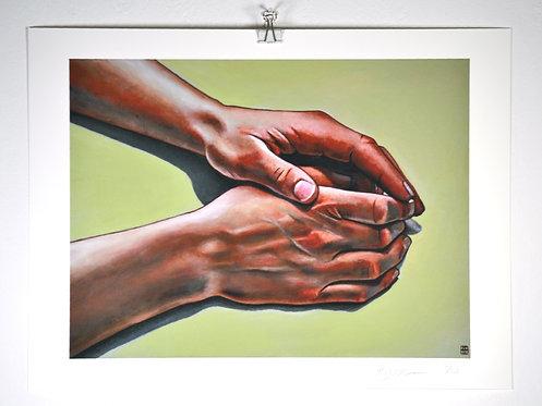 'Two Hands II' - Print