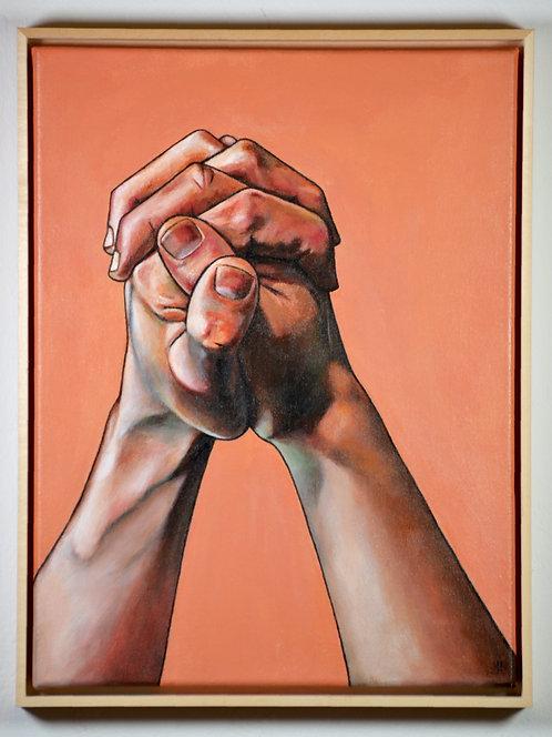 'Two Hands IV' - Original