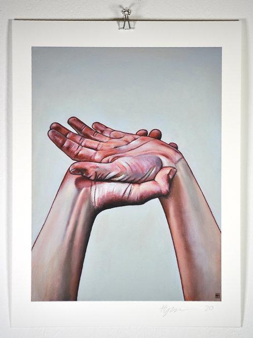 'Two Hands III' - Print