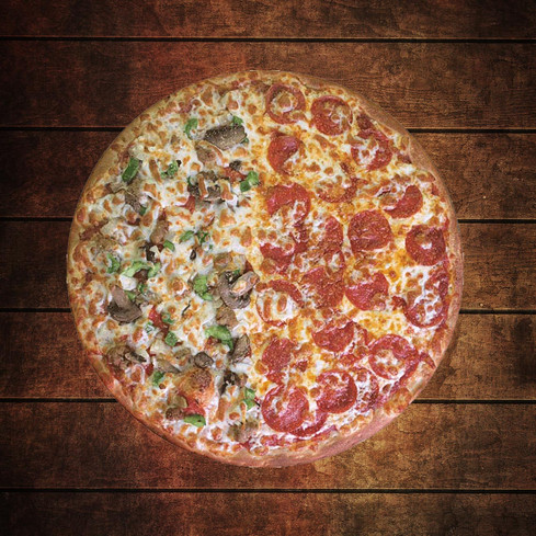 "COMBO PIZZA 8""         + 1 PEPSI"