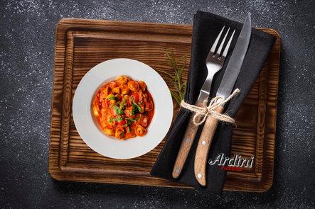 Tortellini avec sauce rosée