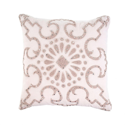 Blush Pink Toss Cushion