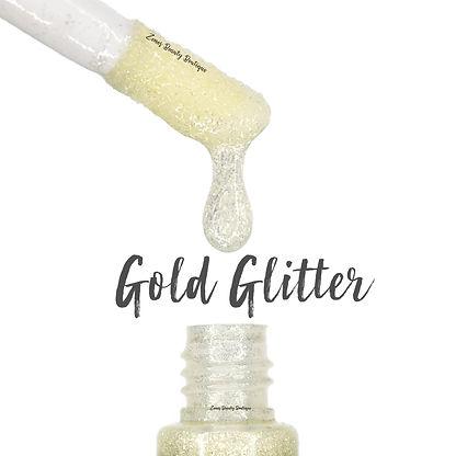 Gold Glitter Gloss