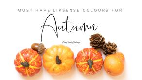 Must have Autumn LipSense Colours 2020