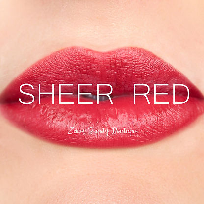 Sheer Red LipSense ®