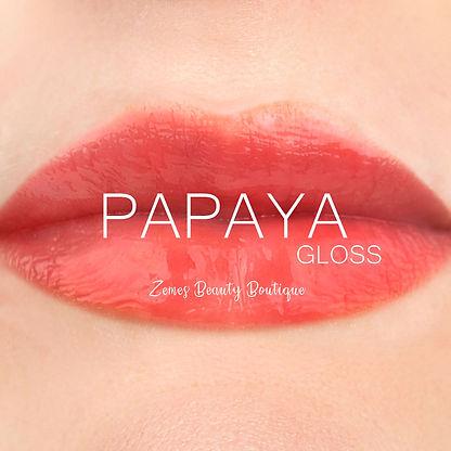 Papaya Gloss