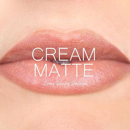 Cream Matte Gloss