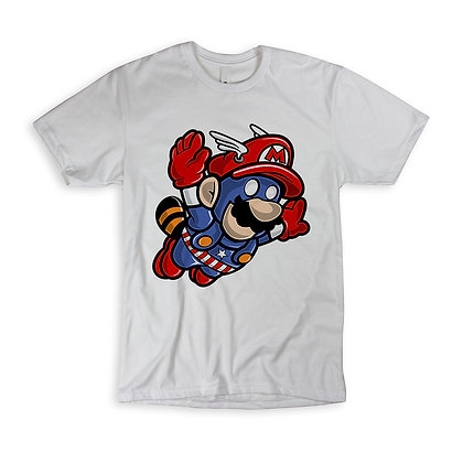 "T-Shirt ""Captain Mario"""