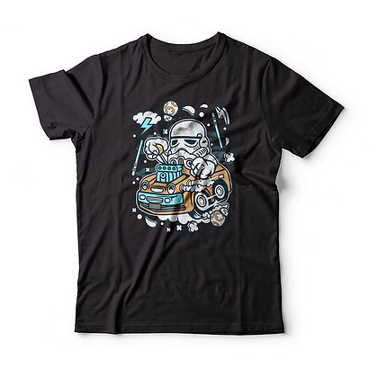"T-Shirt ""Trooper Hotrod"""