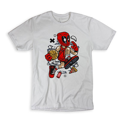 "T-Shirt ""Deadpool Basketball"""