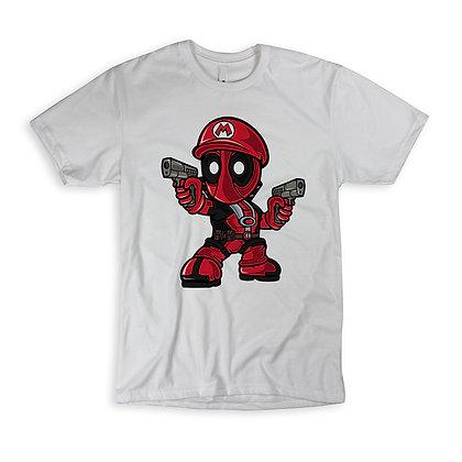 "T-Shirt ""Mario Deadpool"""