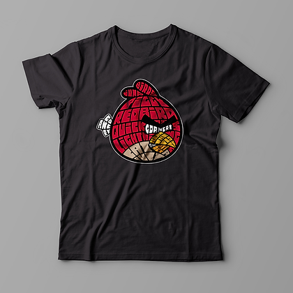 "T-Shirt ""Bird with Anger"""