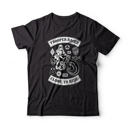 "T-Shirt ""Stormtrooper Caferacer"""
