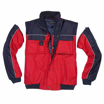 Workwear Jacke mit abnehmbaren Ärmeln | James & Nicholson