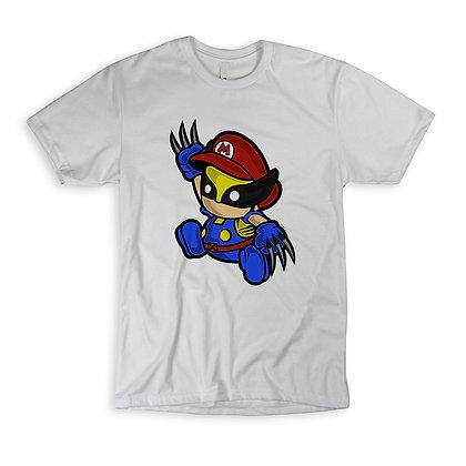 "T-Shirt ""Mario Wolverine"""