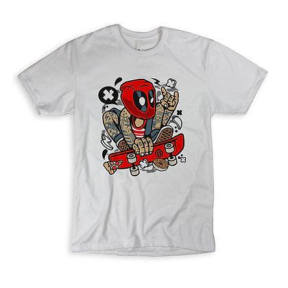 """T-Shirt """"Deadpool Skater"""""""